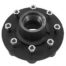 8 lugs black china hubs studs bearings