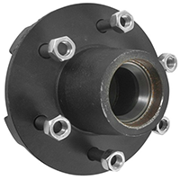 6 lugs wheel hubs for trailers