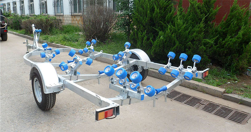 single axle boat trailer for sale