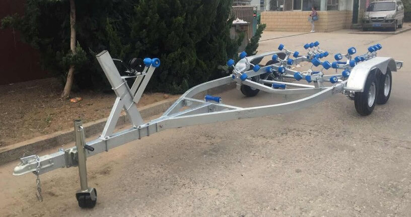 tandem boat trailer for sale china