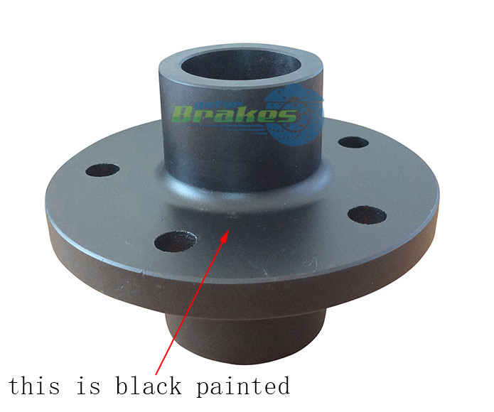this is black paint lazy hub, e -coat